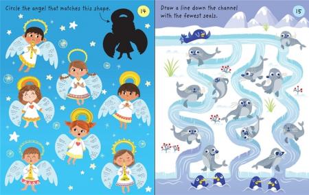 Little children's Christmas pad [2]