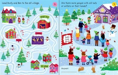 Little children's Christmas pad [1]