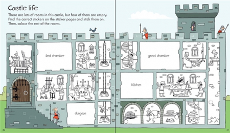 Little children's knights and castles activity book [3]