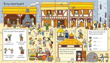 Little children's knights and castles activity book [1]