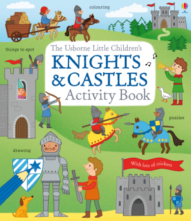 Little children's knights and castles activity book [0]