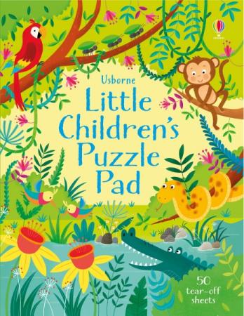 Little children's puzzle pad [0]