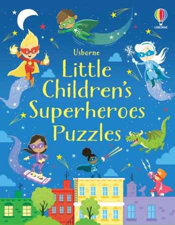 Little Children's Superheroes Puzzles [4]