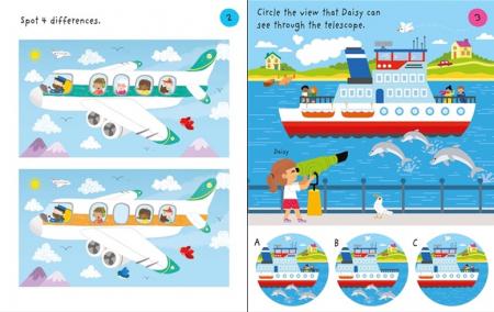 Little children's travel pad [1]