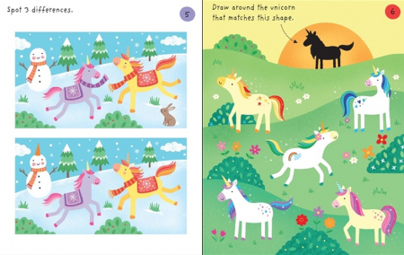 Little Childrens Unicorns Pad [3]