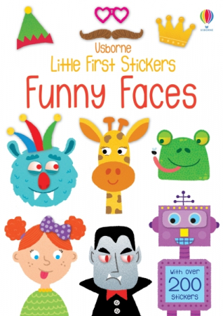 Little first stickers funny faces [0]
