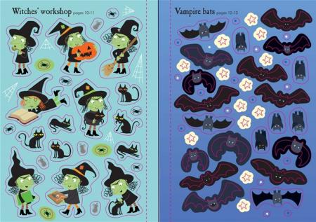Little first stickers Halloween [3]