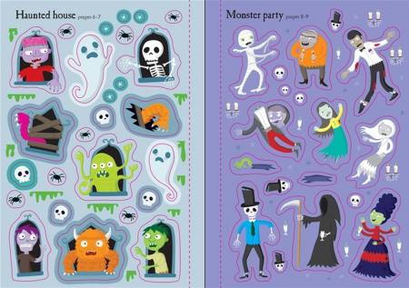Little first stickers Halloween [2]