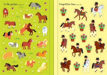 Little first stickers horses and ponies [2]