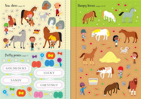 Little first stickers horses and ponies [3]