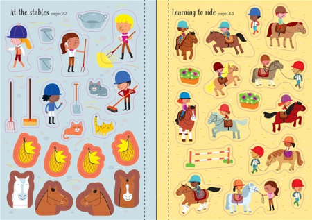 Little first stickers horses and ponies [1]