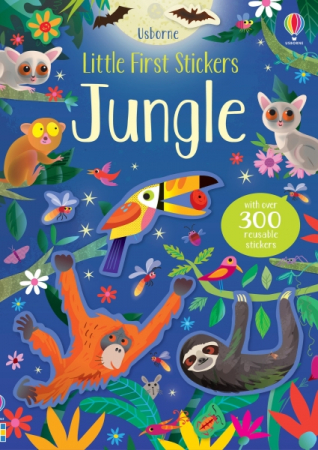 Little first stickers jungle [0]