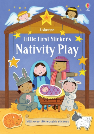 Little first stickers Nativity Play [0]