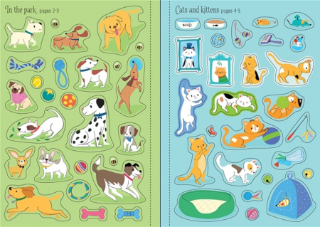 Little first stickers pets [2]