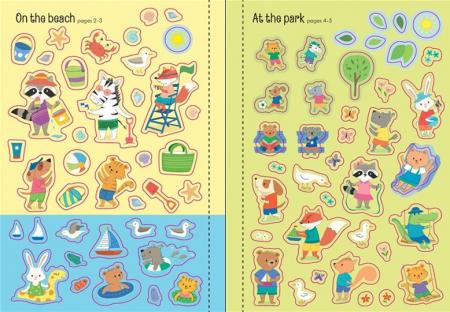 Little first stickers summer [3]