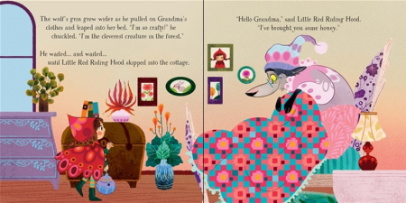 Little Red Riding Hood picture book and jigsaw [3]
