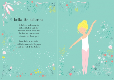 Little sticker dolly dressing Ballerina [1]