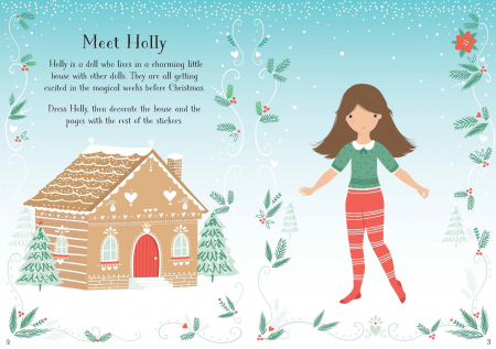 Little sticker dolly dressing Christmas [1]