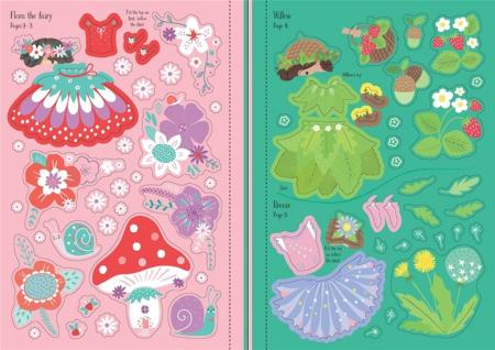Little sticker dolly dressing Fairies [3]