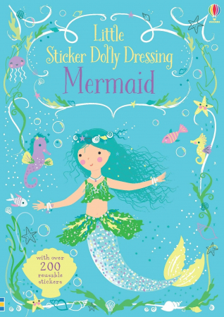 Little sticker dolly dressing Mermaid [4]