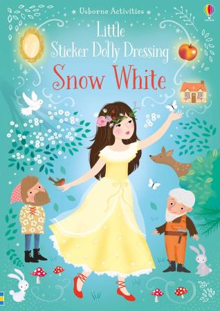 Little sticker dolly dressing Snow White [4]