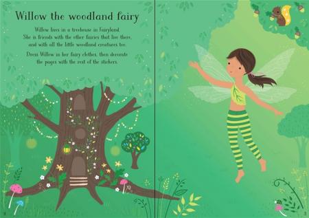 Little sticker dolly dressing Woodland fairy [1]