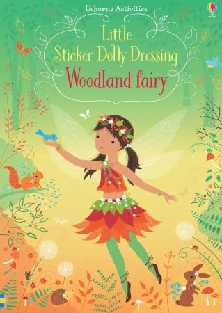 Little sticker dolly dressing Woodland fairy [4]