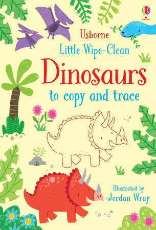 Little wipe-clean dinosaurs to copy and trace [0]