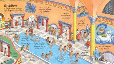 Look inside Roman town [2]