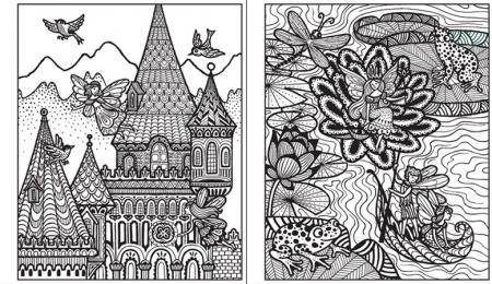 Magic painting Fairy palaces [2]