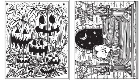 Magic painting Halloween [3]