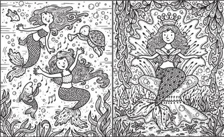 Magic painting Mermaids [2]