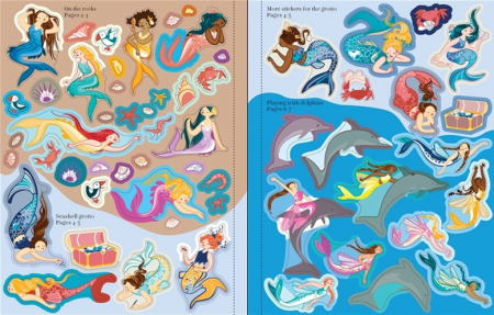 Mermaids sticker book [2]