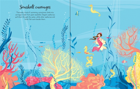 Mermaids sticker book [3]
