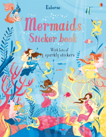 Mermaids sticker book [0]