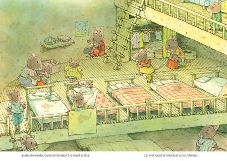 Micul dejun cu familia Șoricel [2]