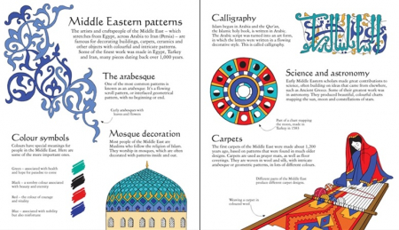 Middle Eastern patterns to colour [1]