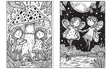 Mini Magic painting Fairies [2]