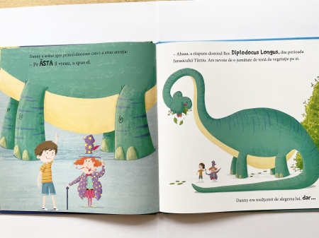 Minunatul magazin de dinozauri [2]