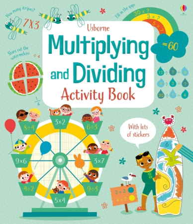 Multiplying and dividing activity book [0]