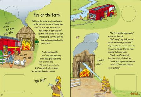 Noisy wind-up fire engine [2]