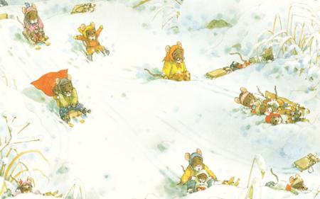 O zi de iarnă cu familia Șoricel [8]