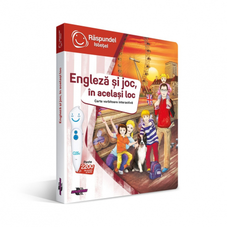 Pachet Engleza si joc, in acelasi locInclude carte si creion [1]