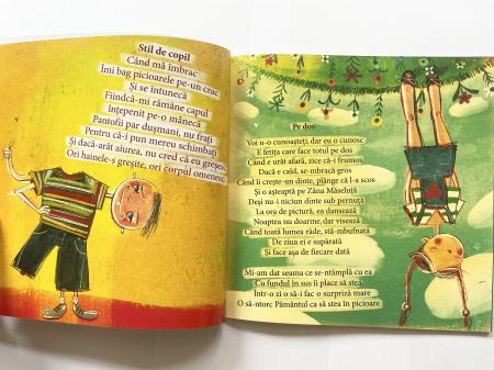 Pe dos. Poezii cu prostii pentru copii – necartonata [1]