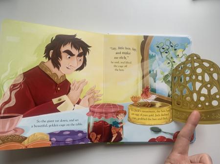 Peep inside a fairy tale: Jack and the Beanstalk [6]