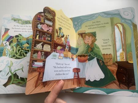 Peep inside a fairy tale: Jack and the Beanstalk [4]