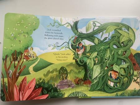 Peep inside a fairy tale: Jack and the Beanstalk [7]