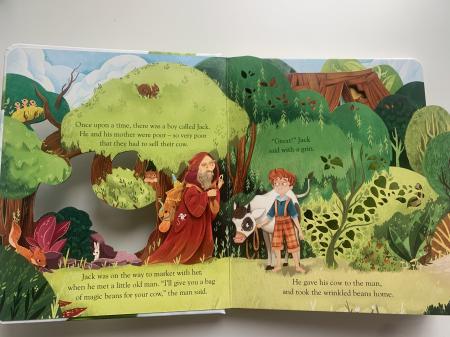 Peep inside a fairy tale: Jack and the Beanstalk [1]