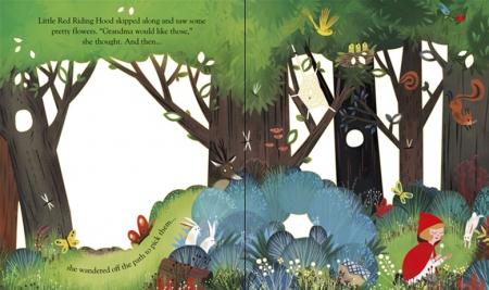 Peep inside a fairy tale: Little Red Riding Hood [1]
