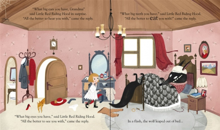Peep inside a fairy tale: Little Red Riding Hood [3]